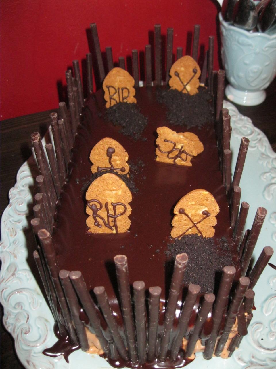 Rest in Peace! Schokoladen Kürbis Torte