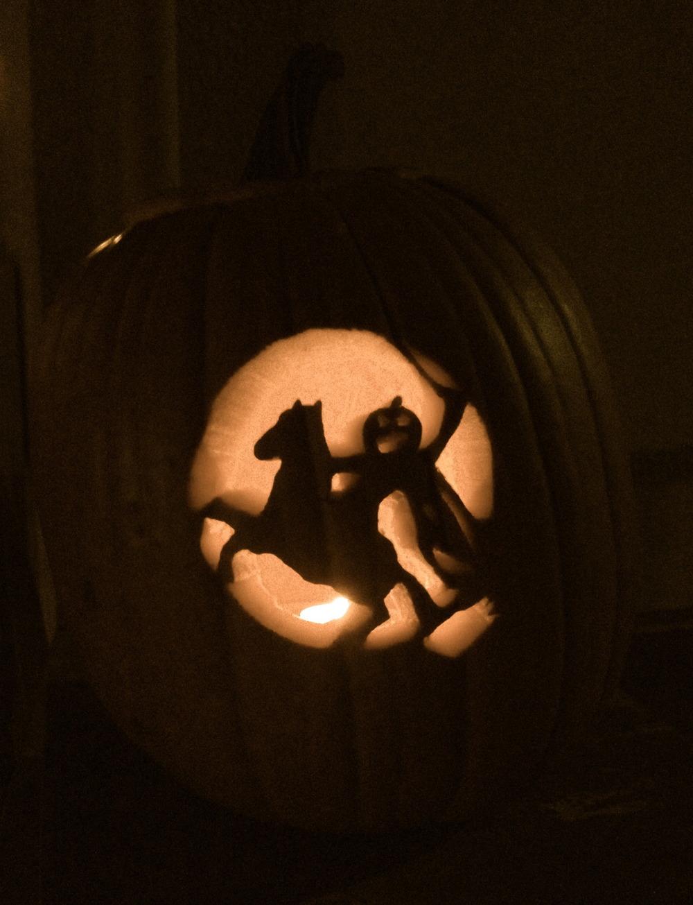 Oktober: Halloween Kürbis