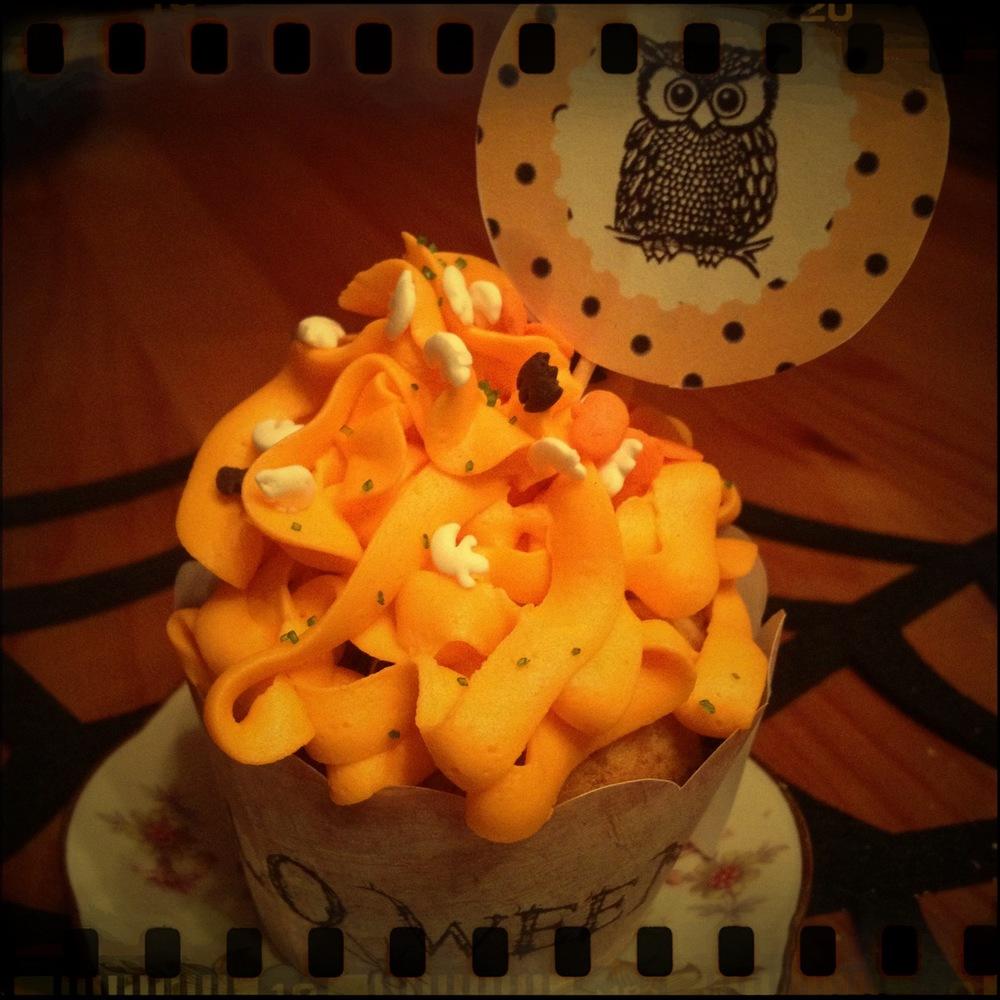 Oktober: Halloweencupcakes