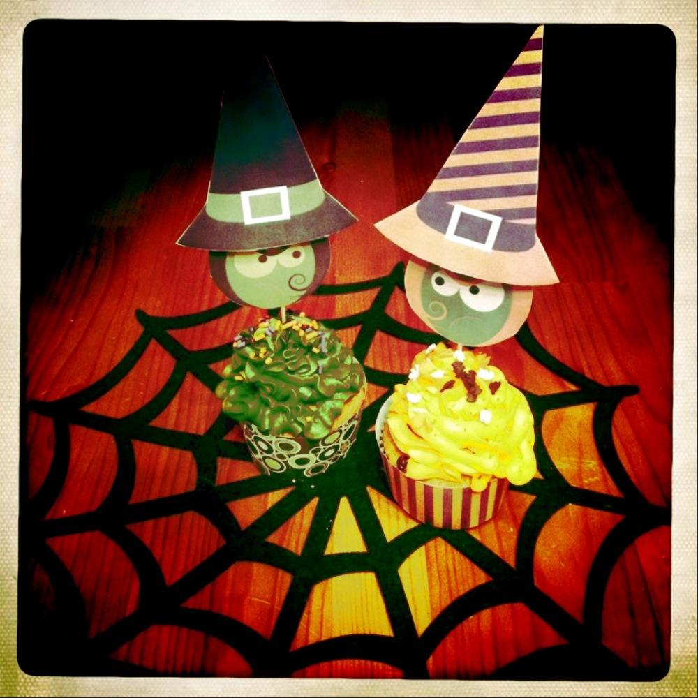 Oktober: Hexencupcakes