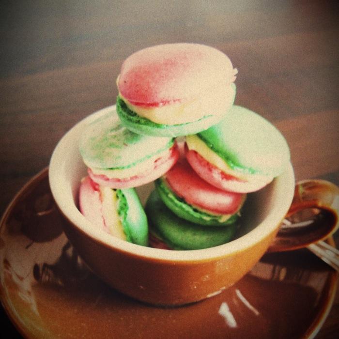 Juni: italienische Macarons zur EM