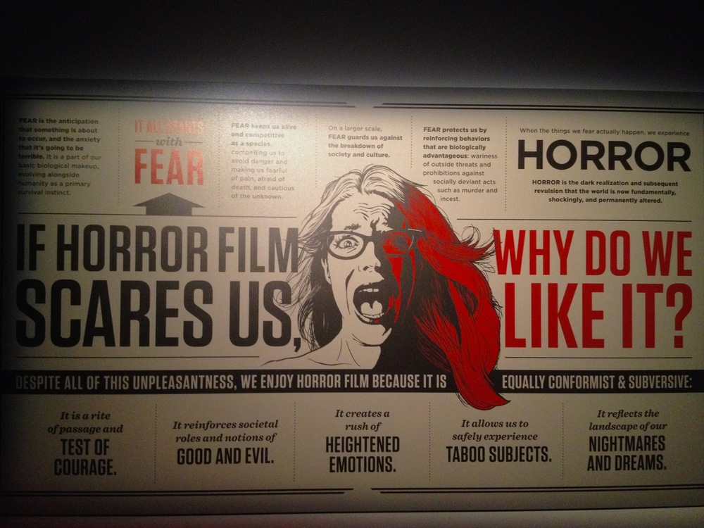 Why we like horror