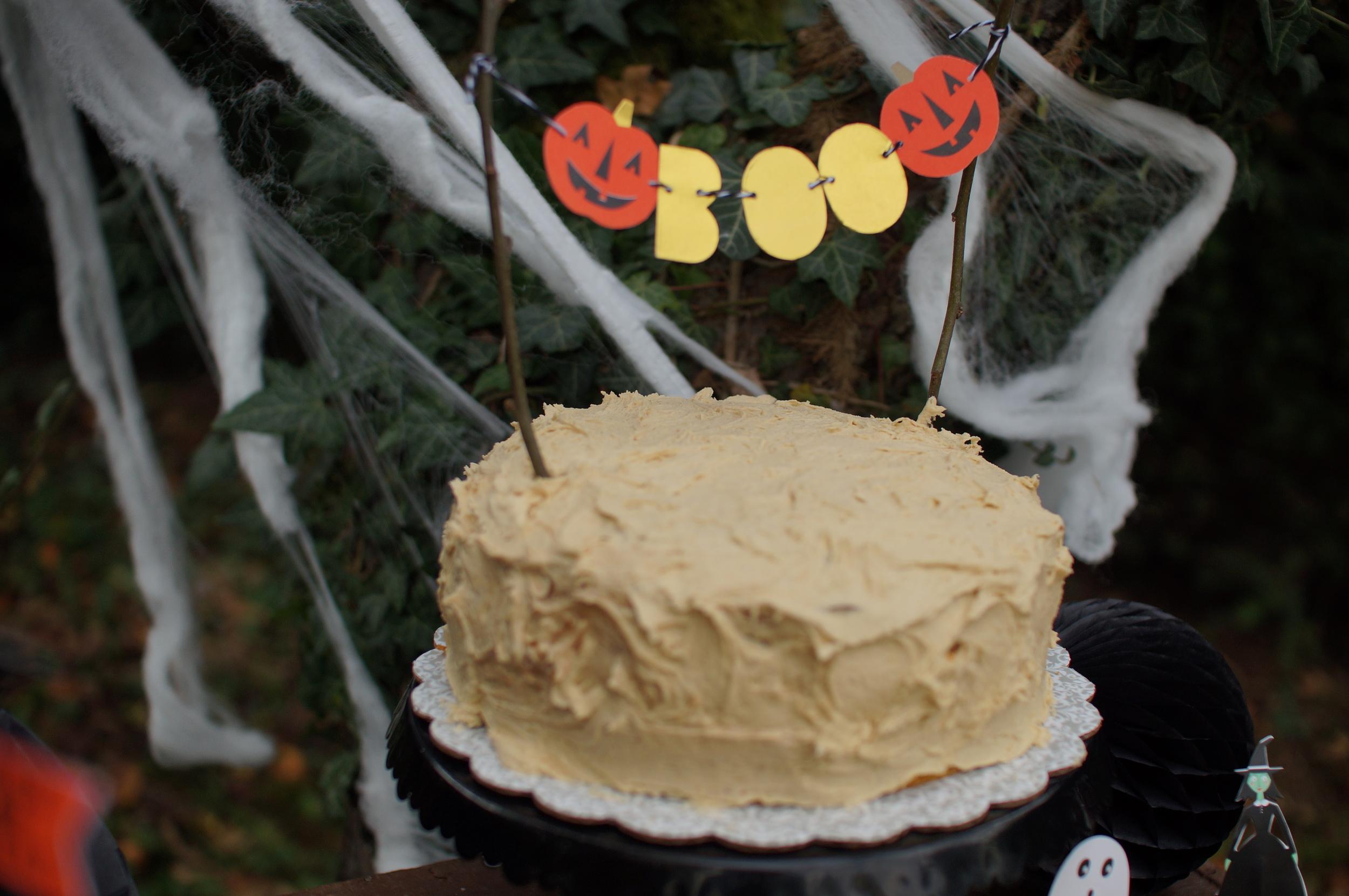 Halloween Birthday Cake