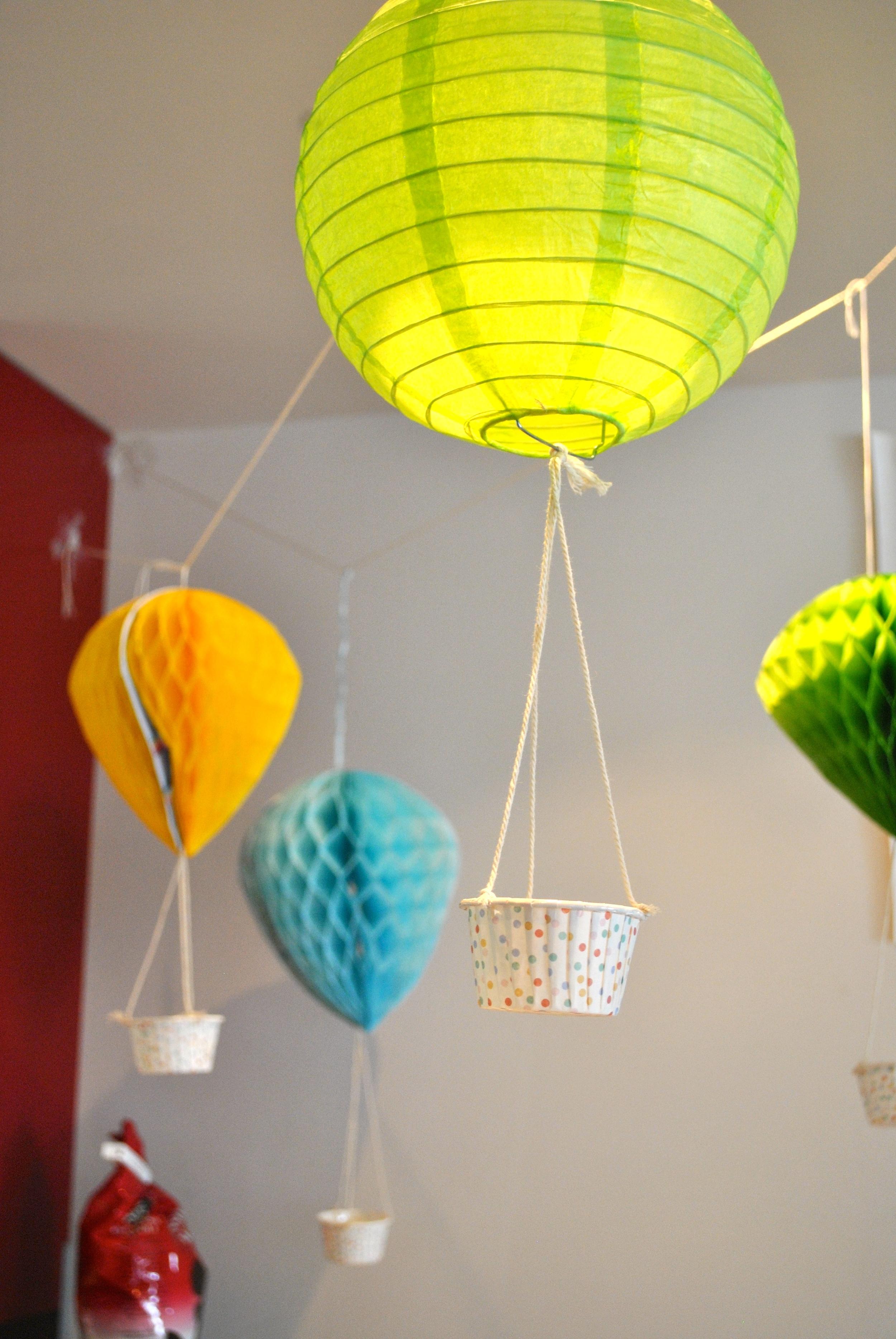 Heißluftballon Dekoration