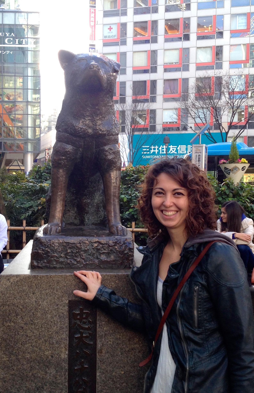 Hachiko at Shibuya