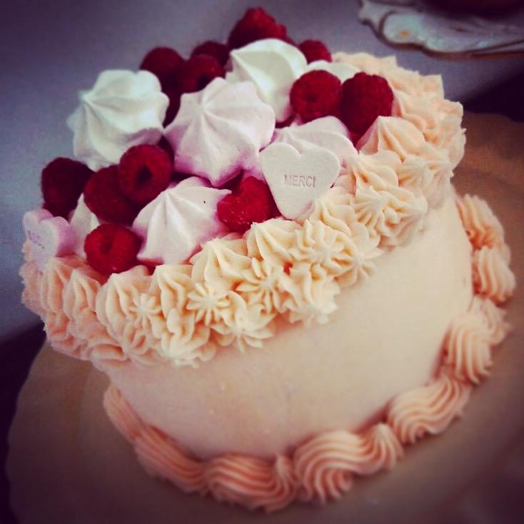 Galentine Cake