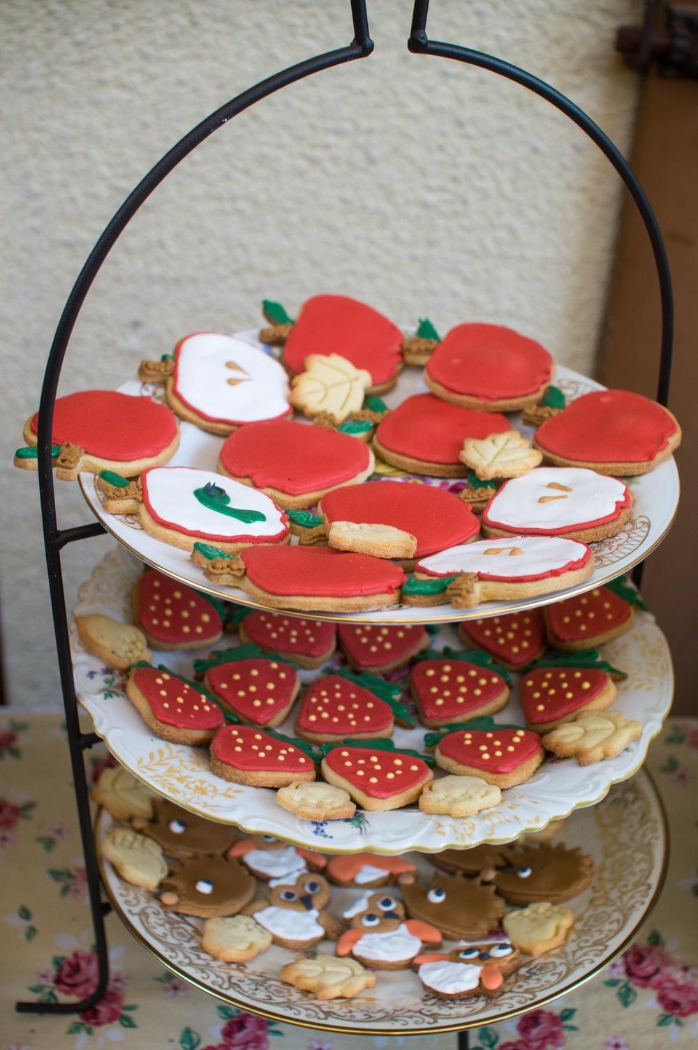 Woodland Cookies Royal Icing Wald und Wiesen Kekse .jpg