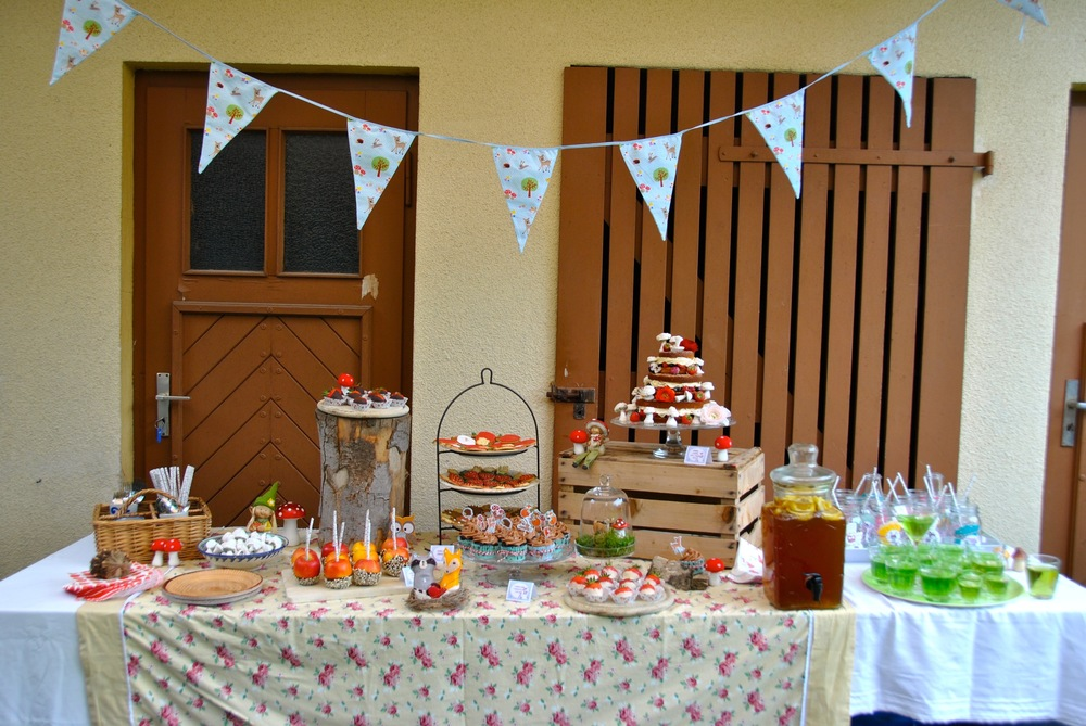 Wald und  Wiesen Babyshower Woodland Baby Shower