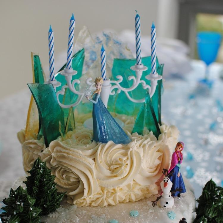 Völlig unverfrorene Eiskönigin Torte