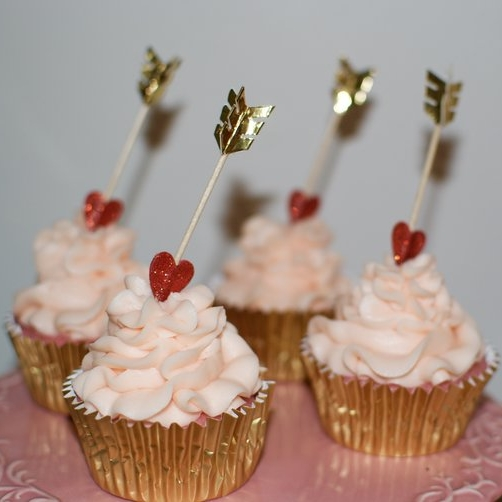 Pinke Limoaden Cupcakes