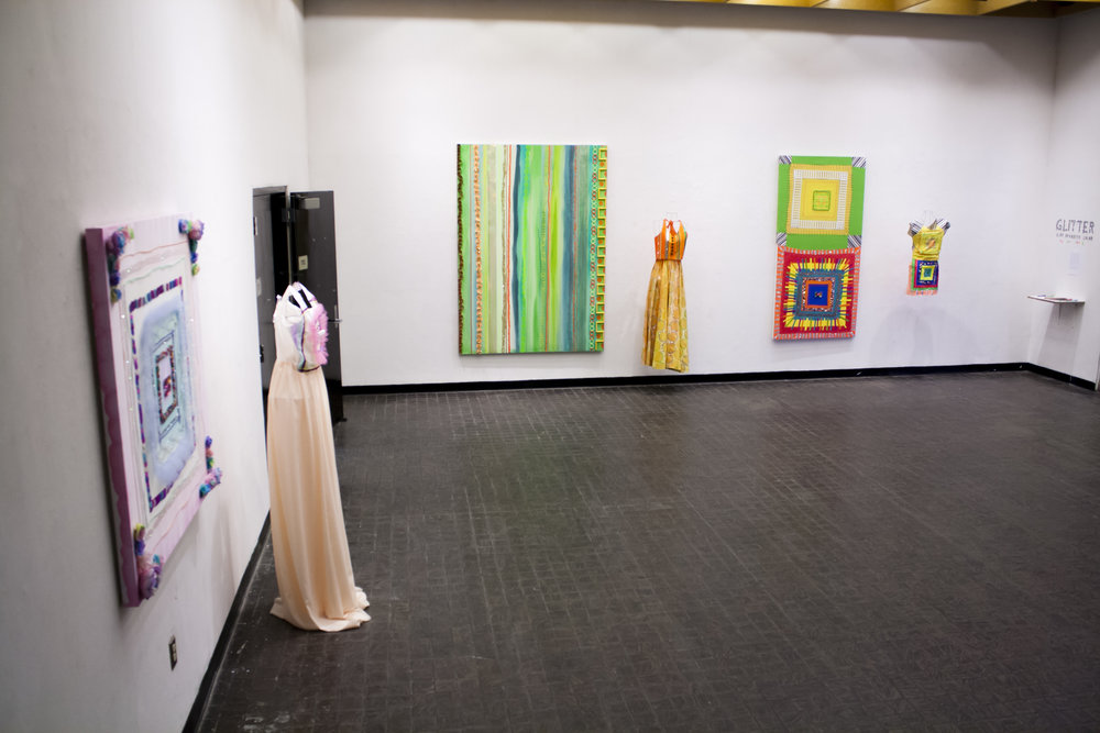 GLITTER IS MY FAVORITE COLOR (2013), installation view