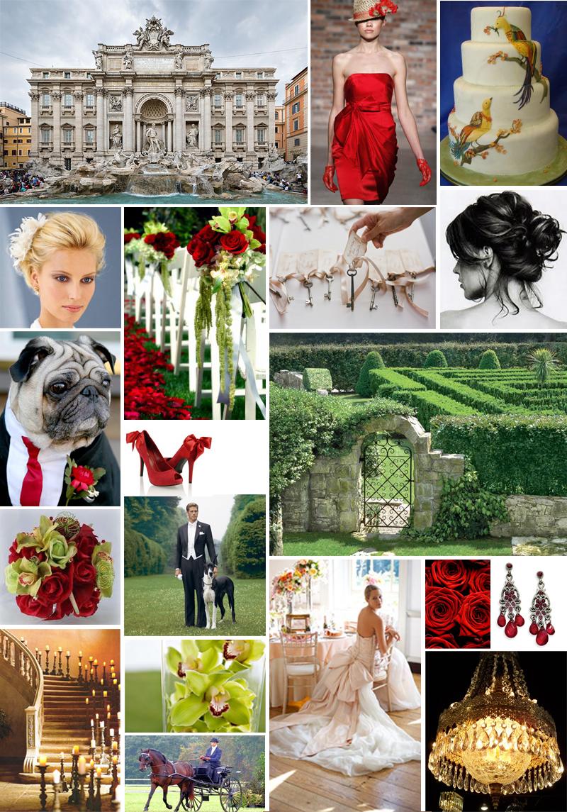 Romantic Wedding Inspiration Board | 2012 Wedding Trends