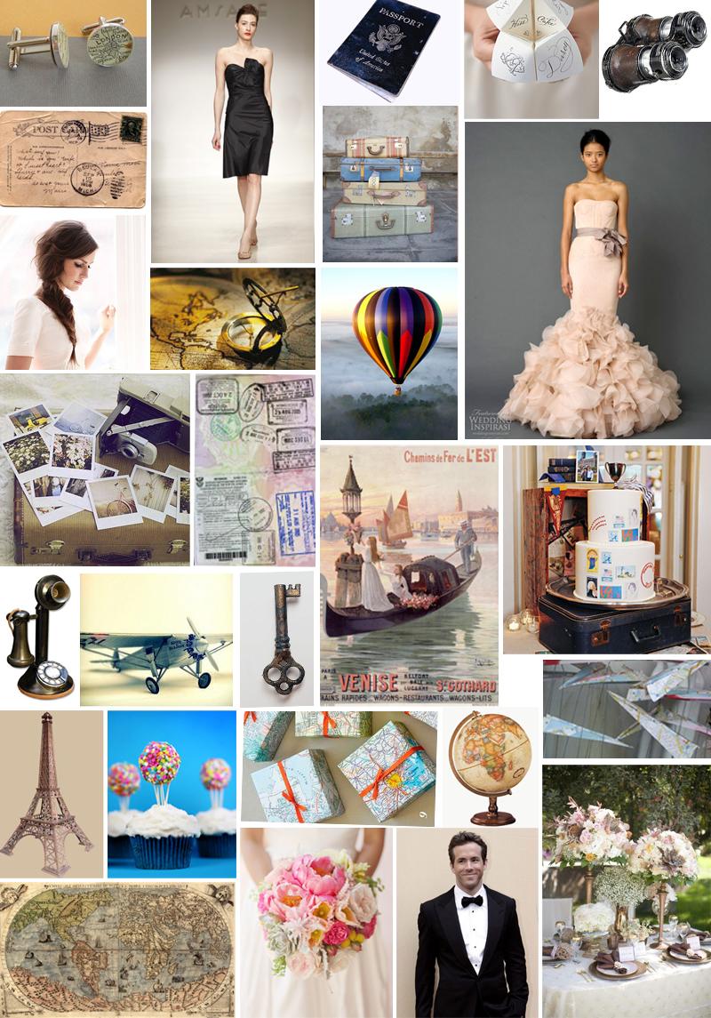 Nashville wedding photographer streetlight republic | Travel wedding theme