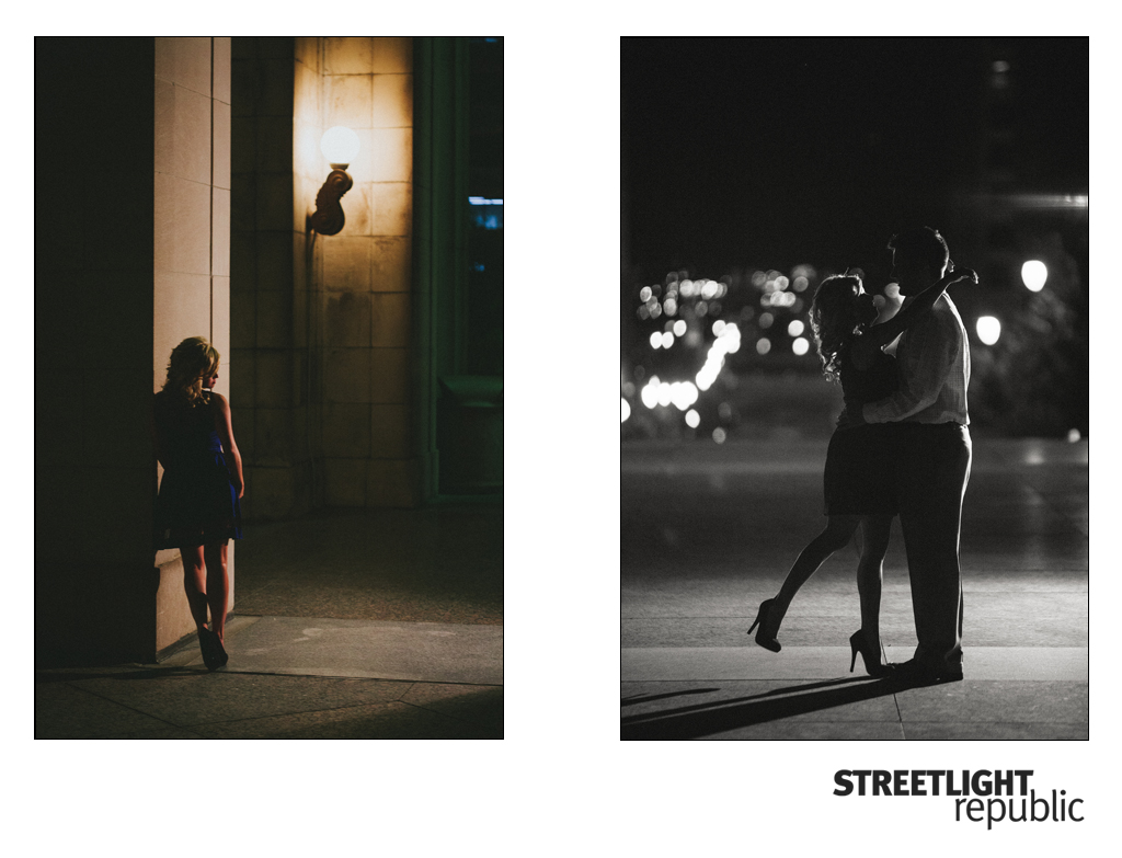Nashville Wedding Photographer Streetlight Republic | Nashville Engagement Photos