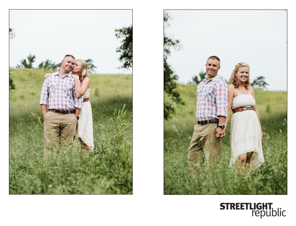 Cookeville TN Wedding Photographer, Fire Truck Engagement Photos