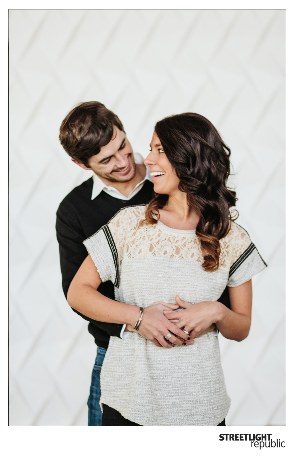 Nashville Engagement Photos, streetlight republic