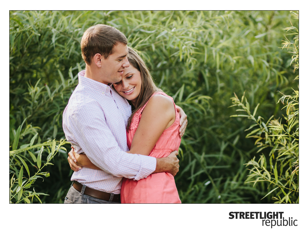 Canoe Engagement Photos, streetlight republic