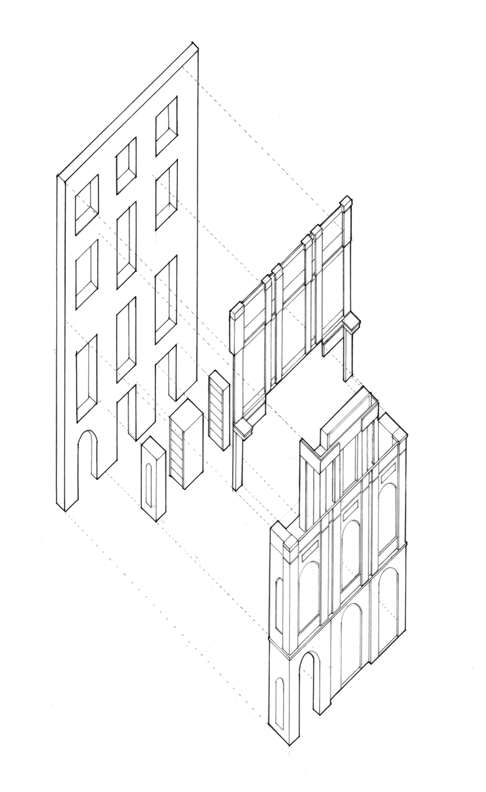 Helen McCormack_Sir John Soanes Museum_01Facade Hierarchy.jpg