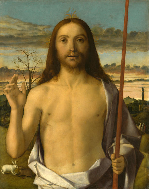 Giovanni Bellini, Christ Blessing, c. 1438-1516