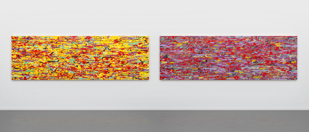L:   Variation: yellow (dusk) , 2016 R:   Variation: purple (dawn) , 2016
