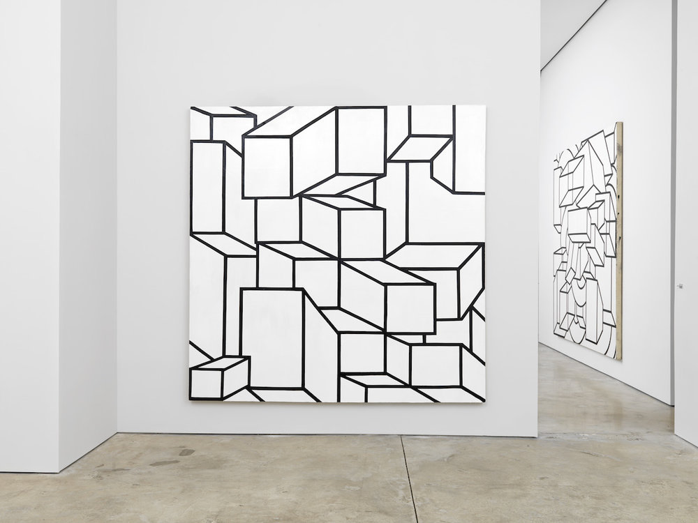 Cheim & Read exhibition, Al Held: Black and White Paintings, 2016.