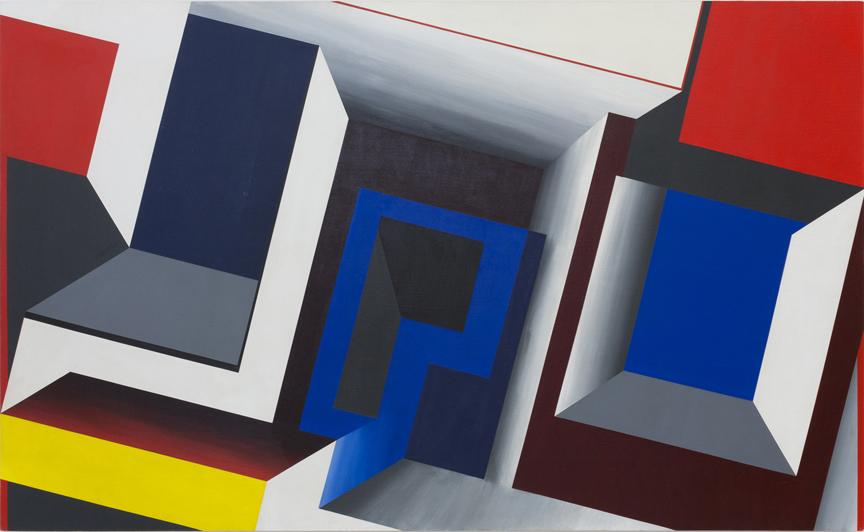 Suzanne Blank Redstone,Portal - Descent,1968