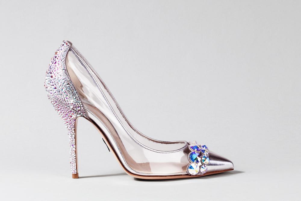 Cinderella Inspired Designer Glass Slippers Revealed Bossy Gals