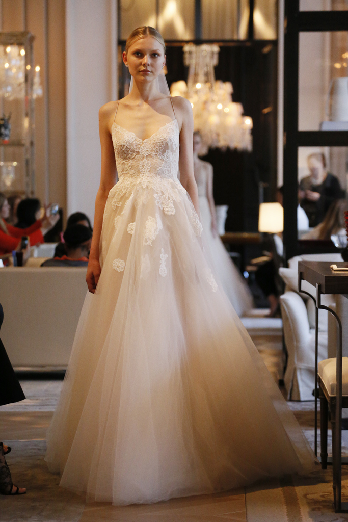 Monique Lhuillier Bridal Spring 2016 — BOSSY GALS