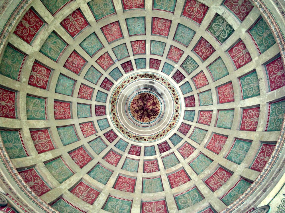 Ceiling of the Monopteros