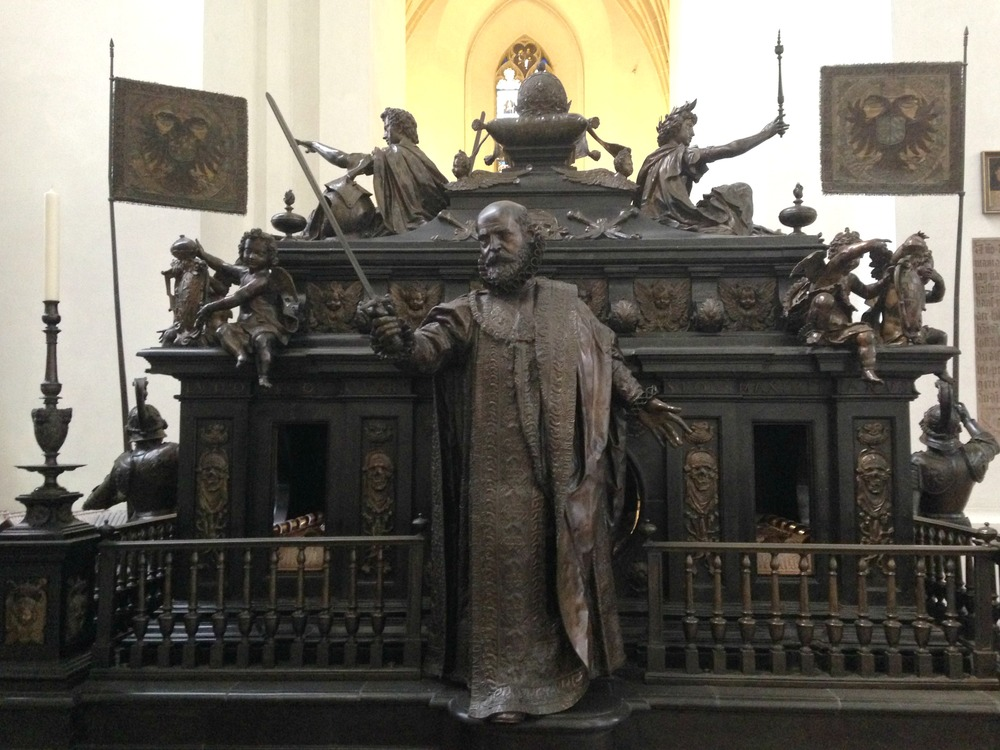 Cenotaph of Emperor Louis IV by Hans Krumpper inside Frauenkirche (Cathedral of Our Dear Lady)