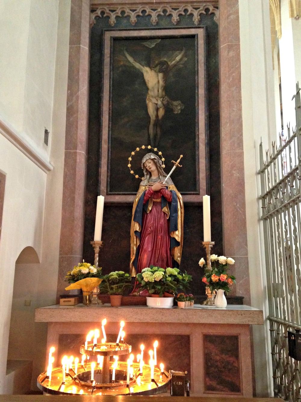 Inside Frauenkirche (Cathedral of Our Dear Lady)