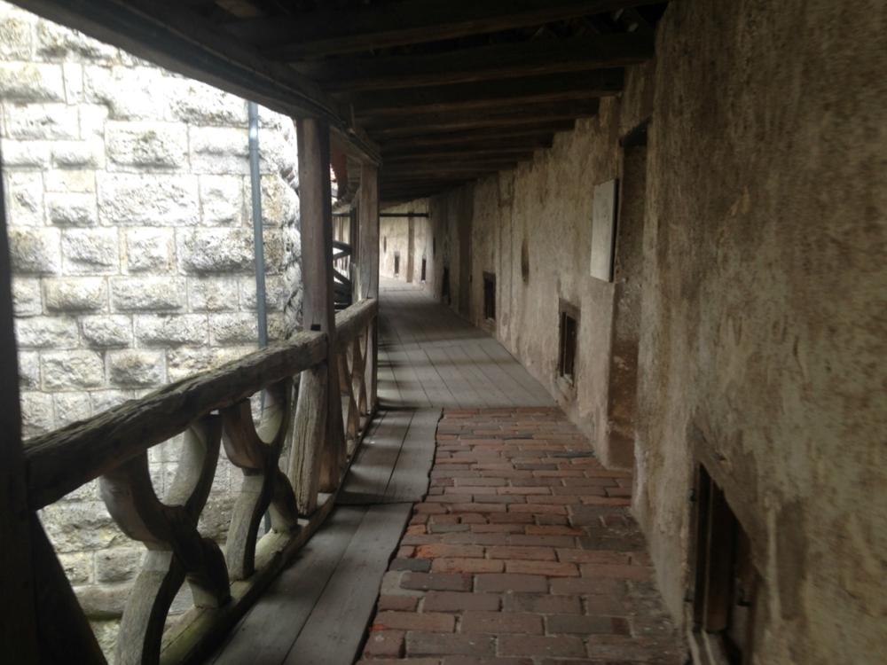 Harburg Castle Wall Walk