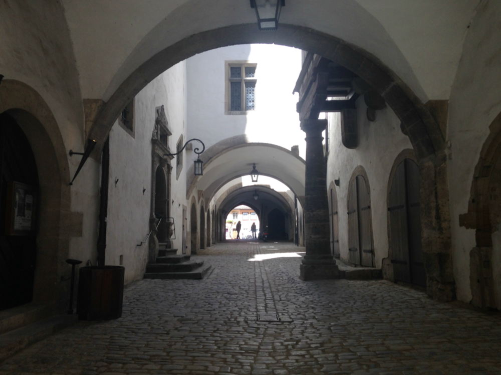 Alleyway in Rothenburg