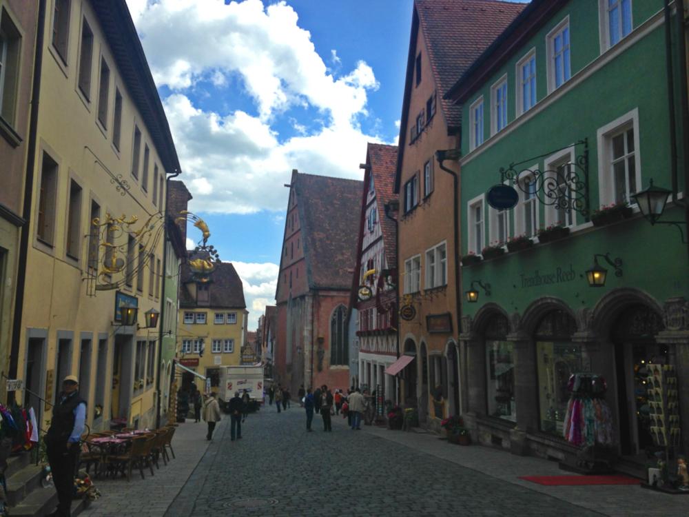 Roaming around Rothenburg