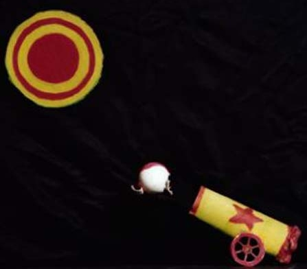 The Amazing Gnip Gnop Circus: Cannonball