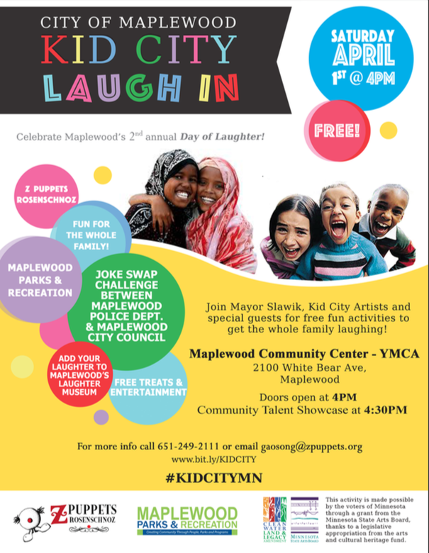KID CITY Laugh IN Flier!