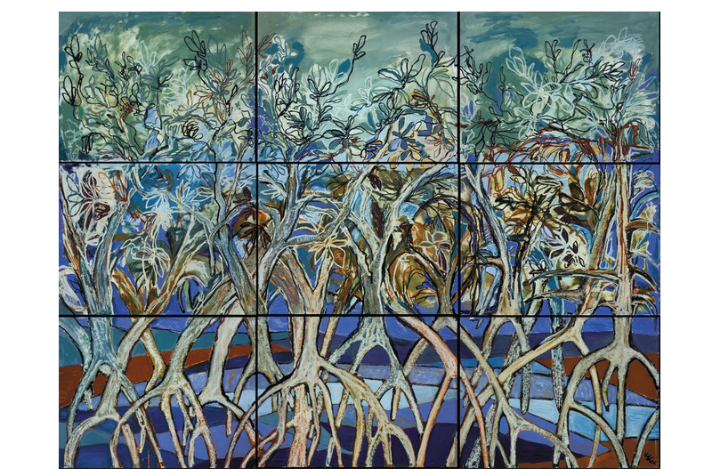 Mangroves Collage I