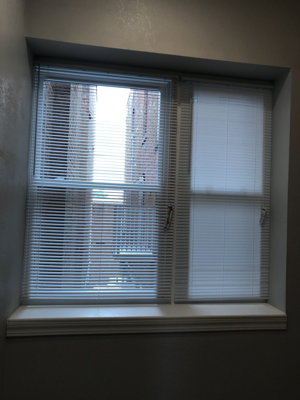 Bedroom Windows - Wired for Tenant Provided AC