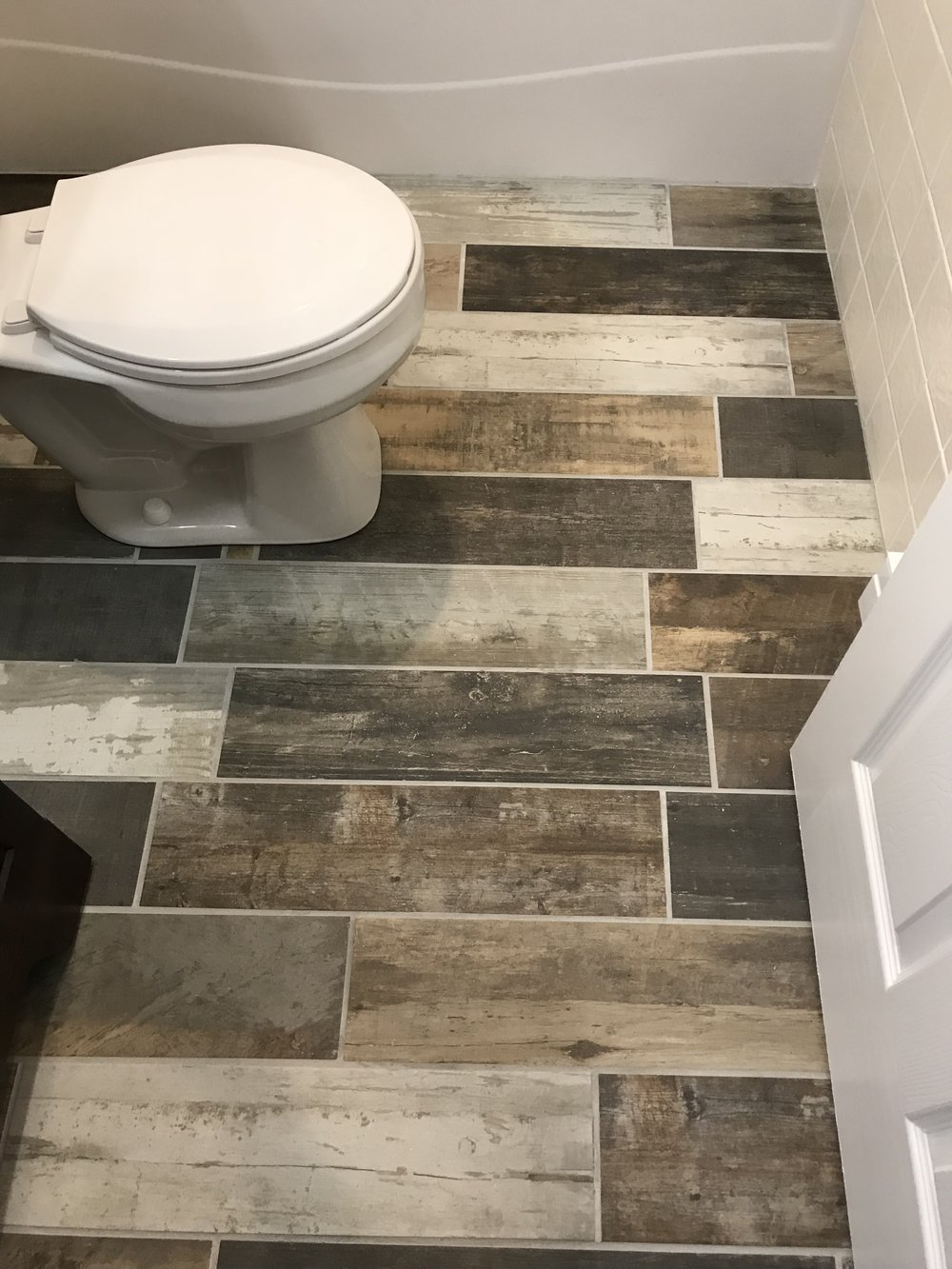 "Ceramic Plank ""wood"" flooring"