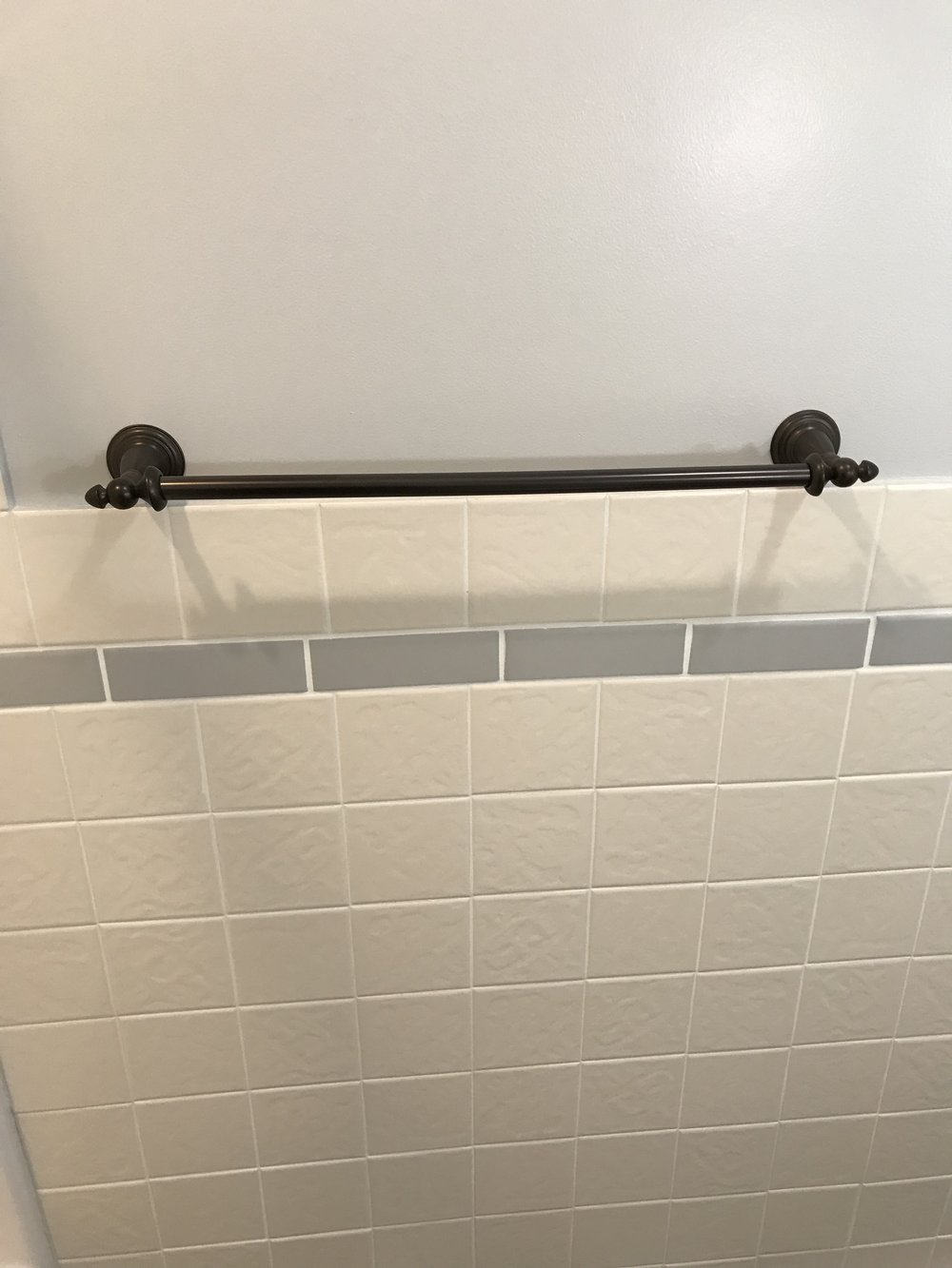 Upgraded bath fixtures