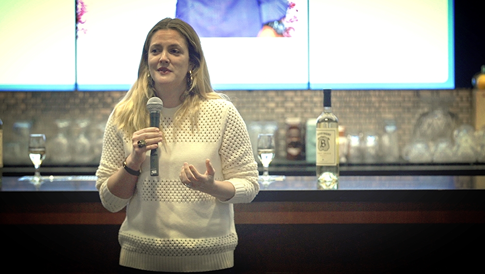 Drew Barrymore describes her vision for Barrymore Wines