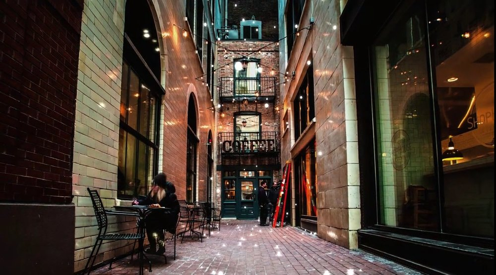 Google Chicago Coffee Shop