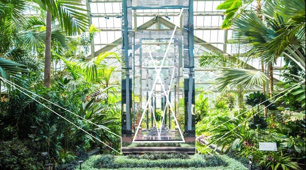 Google Chicago Botanical Gardens