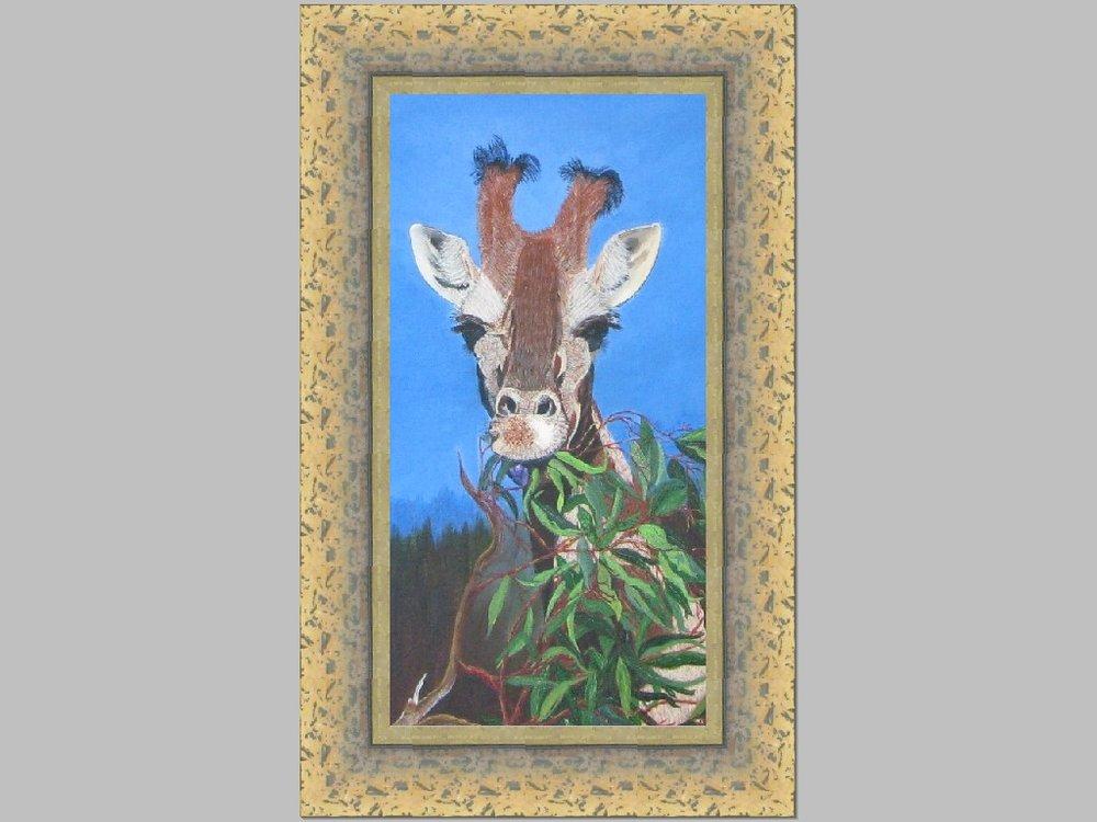 Giraff Painting