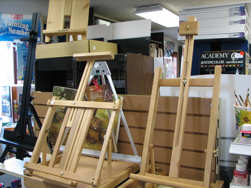 Table top easels we also have metal easels and Floor easels prices from $18.99 to $2500.00
