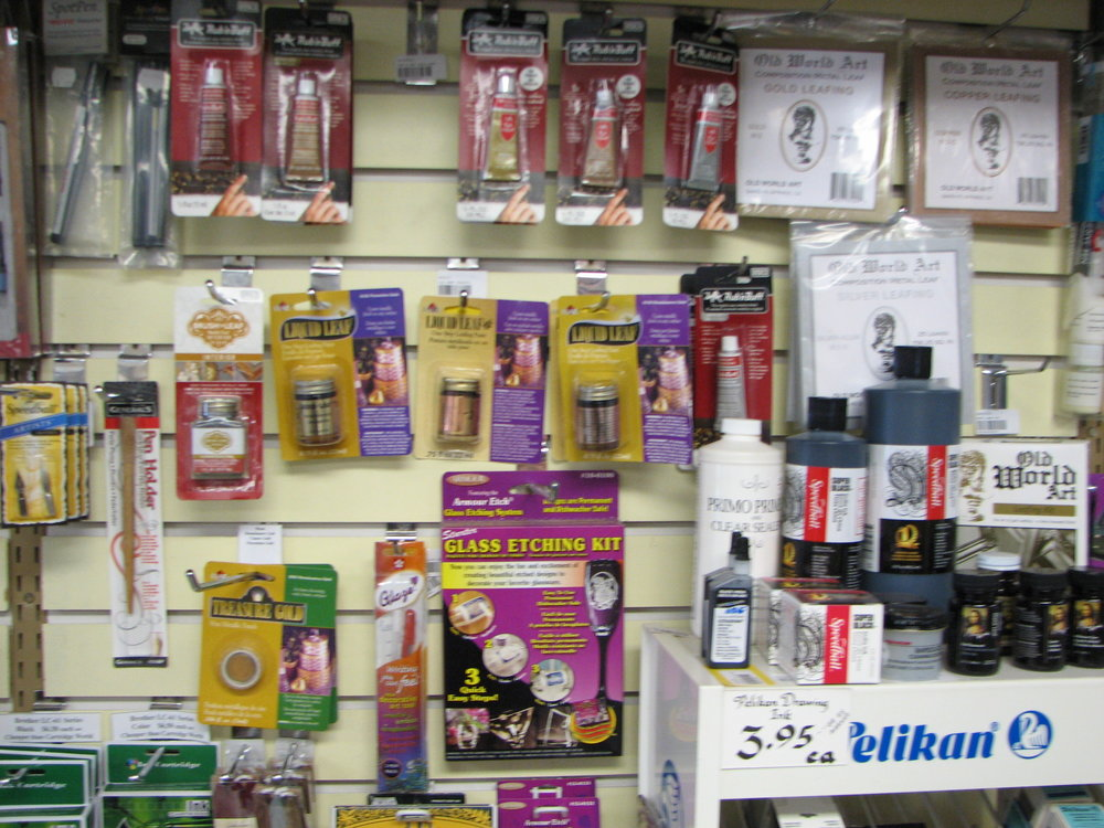 Calligraphy supplies and Gold Leafing supplies