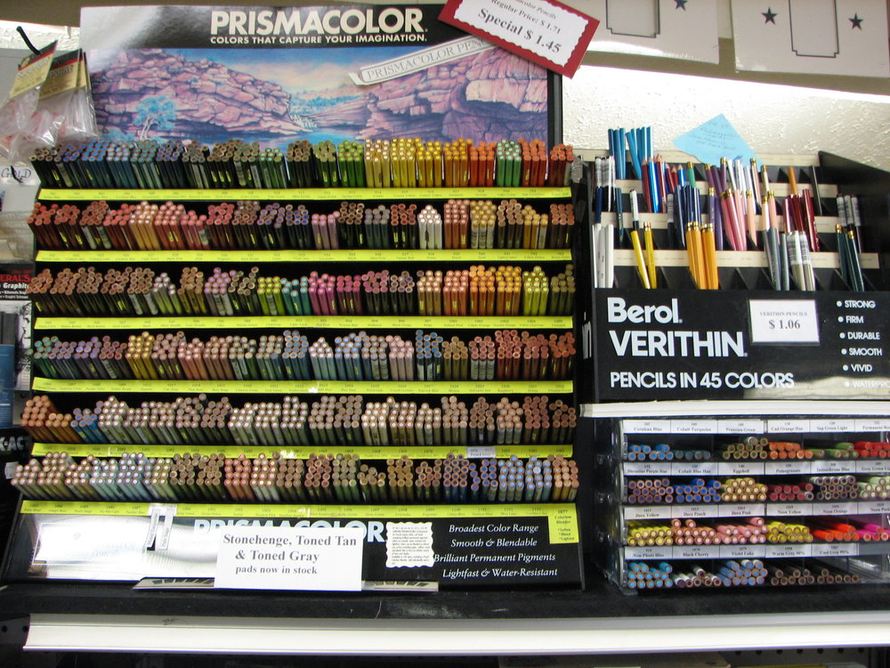 Prismacolor Pencils and sets, Verithin colored pencils and sets
