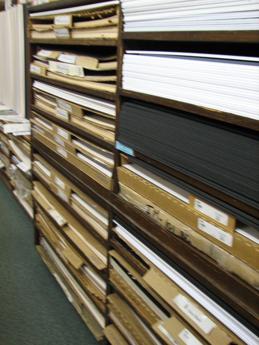 Illustration Board and Mat Board thousands of sheets