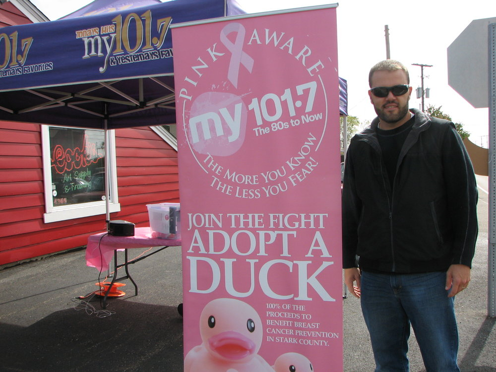 Our 2015 101.7 Adopt A Duck Radio ad campaign