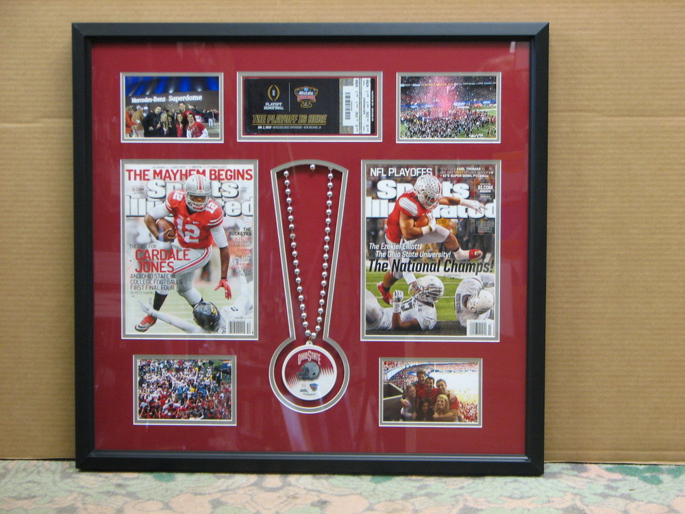 Ohio State Champions magazine and other memorabilia
